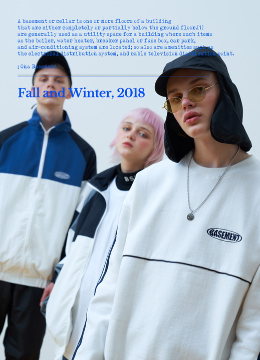 2018FW collection LOOK BOOK